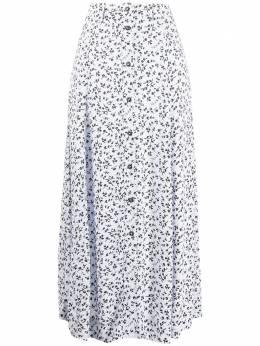 Ganni юбка с цветочным принтом F4994