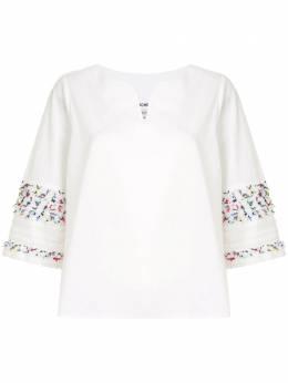 Coohem блузка с фактурной отделкой рукавами 10204002