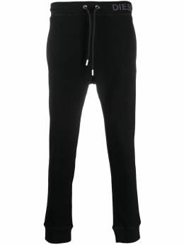 Diesel фактурные спортивные брюки A000760KAYB