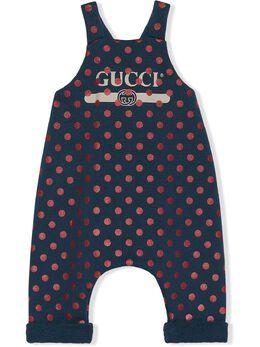 Gucci Kids боди в горох 581174XJCT5