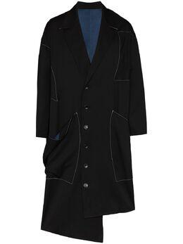 Sulvam пальто оверсайз SMC01100