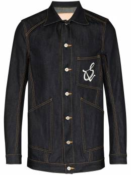 Sulvam джинсовая куртка с логотипом SMJ09090