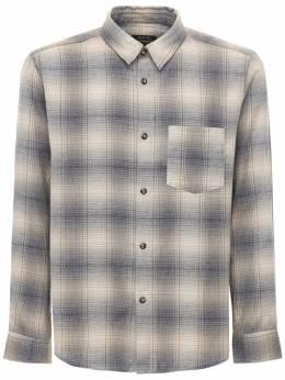 Хлопковая Рубашка В Клетку A.P.C. 72IXG4002-QkFB0