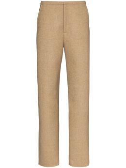Toteme строгие брюки Alaior кроя слим 203210718