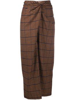 Nanushka юбка с драпировкой SAMARA