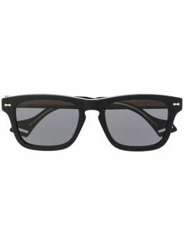 Gucci Eyewear солнцезащитные очки в квадратной оправе 623874J0750