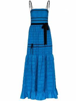 Molly Goddard ярусное платье со сборками MGAW2015MINNIEDRESS