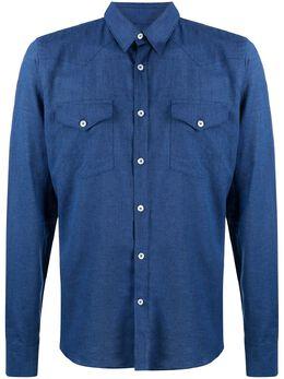 Dell'oglio джинсовая рубашка TXJ59B7UR504