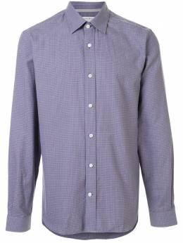 Gieves & Hawkes рубашка в мелкую клетку G4065E103037