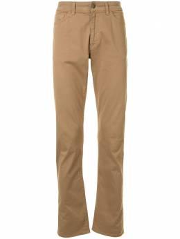 Gieves & Hawkes прямые джинсы средней посадки G4064E105085