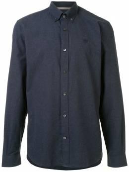 Gieves & Hawkes рубашка с вышитым логотипом G4065E114037