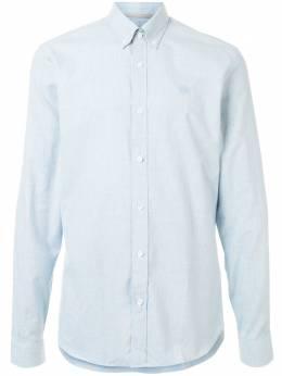 Gieves & Hawkes рубашка с вышитым логотипом G4065E114033