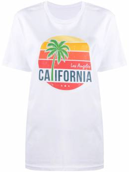 Manokhi футболка с графичным принтом AW20MANO150A505TSHIRTCALIFORNIA