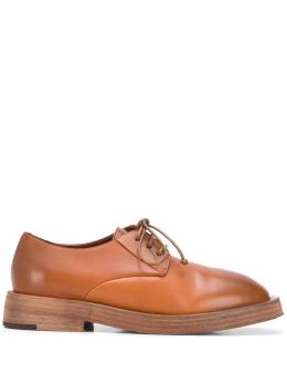 Marsell глянцевые туфли на шнуровке MW5815118