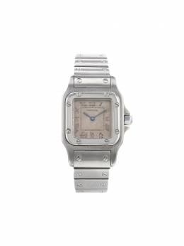 Cartier наручные часы Santos Galbée pre-owned 23 мм 1990-х годов 340090