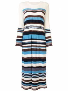 Coohem трикотажное платье в полоску 10204014