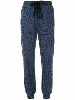 The Upside спортивные брюки Alena с тигровым принтом USW320095