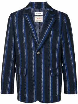 Coohem полосатый пиджак 20204003
