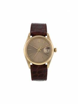Rolex наручные часы pre-owned Oyster Perpetual Date 34 мм 350648