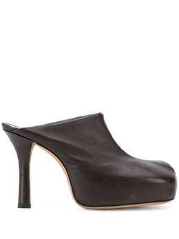 Bottega Veneta мюли с квадратным носком 630148VBP40
