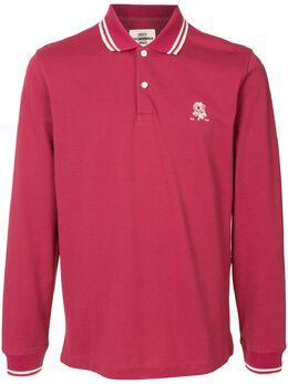 Kent & Curwen рубашка поло с длинными рукавами K4100289I074