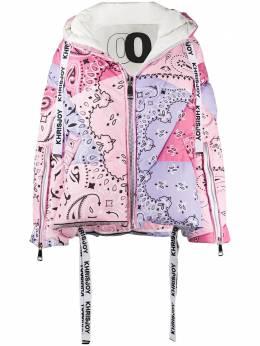 Khrisjoy дутая куртка с принтом пейсли BFPW024NYBDMIX33