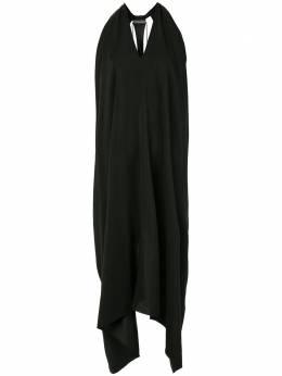 Isaac Sellam Experience платье Indecente асимметричного кроя с драпировкой INDECENTESILKAW20