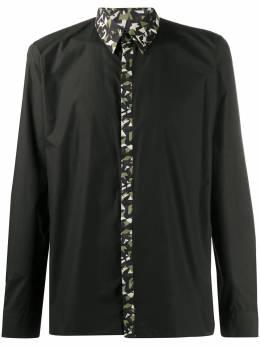 Fendi рубашка с камуфляжной отделкой FS0874ABUZ