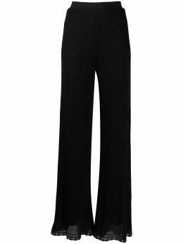 M Missoni расклешенные брюки в рубчик 2DI002122K006N