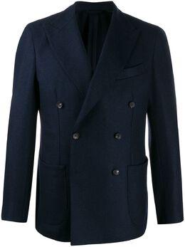 Borrelli двубортный пиджак NISIDAC8707