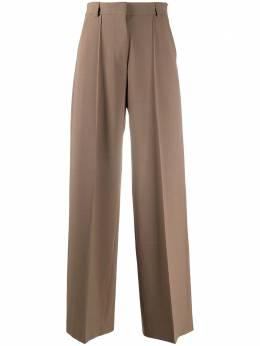 Nanushka брюки широкого кроя CLEO