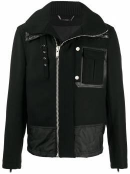 Les Hommes куртка с высоким воротником LJO301209C