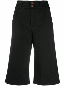 See By Chloe удлиненные джинсовые шорты CHS20ADS01160001
