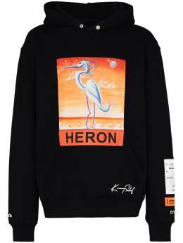 Heron Preston худи с логотипом из коллаборации с Kenny Scharf HMBB010F20JER0091020