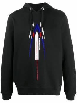 Les Hommes худи с логотипом LJH401753E