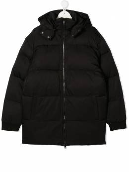 Stella McCartney Kids пуховик с логотипом 601278SPK32