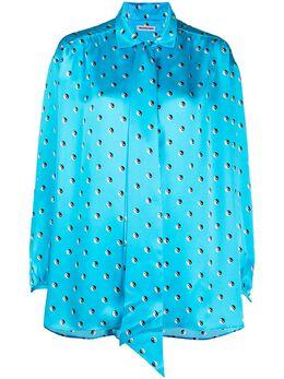 Balenciaga рубашка Yin Yang с принтом 625516TIL73
