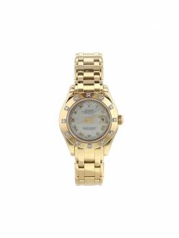 Rolex наручные часы Datejust Pearlmaster pre-owned 29 мм 1995-го года 353251
