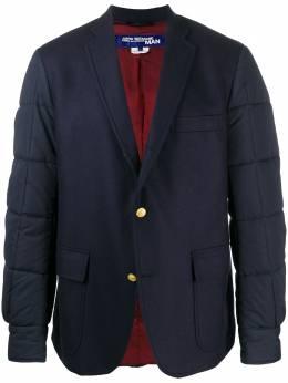 Junya Watanabe Man пиджак со стегаными рукавами WDJ102051