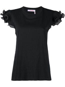 See By Chloe футболка с оборками CHS20AJH45081001