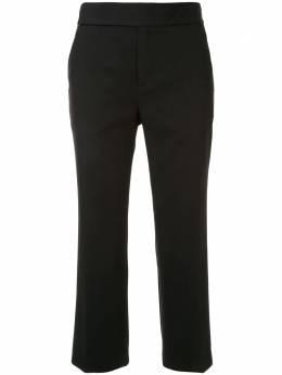 Portspure укороченные брюки прямого кроя RL7P013KWE018BLACK