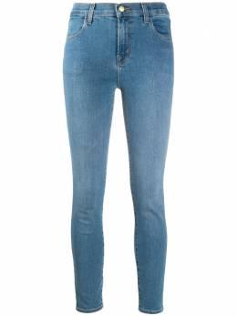 J Brand укороченные джинсы скинни Alana с завышенной талией 23127T178D