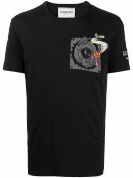 Iceberg футболка с принтом I1P0F0256301