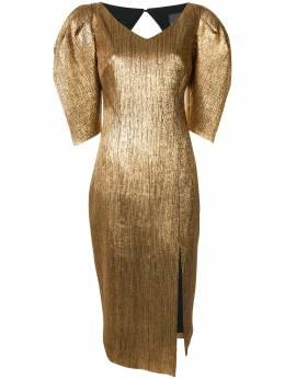 Ginger & Smart платье асимметричного кроя с эффектом металлик W20537A