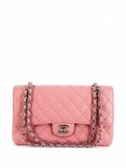 Chanel Pre-Owned стеганая сумка на плечо 363833