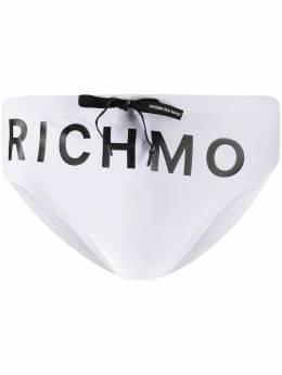 John Richmond плавки-брифы с логотипом UMP20012CO