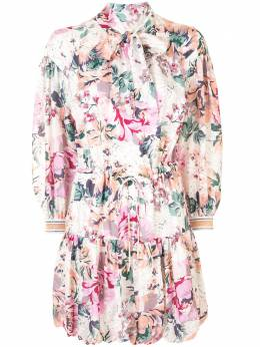 Ginger & Smart платье с цветочным принтом W20548A