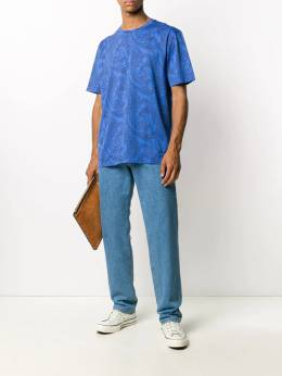 Etro футболка с принтом пейсли 1Y8205537
