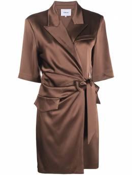 Nanushka платье-рубашка с запахом NW20PFDR01978