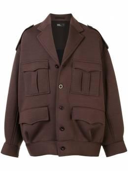 Kolor куртка оверсайз с карманами 20WCMG08201